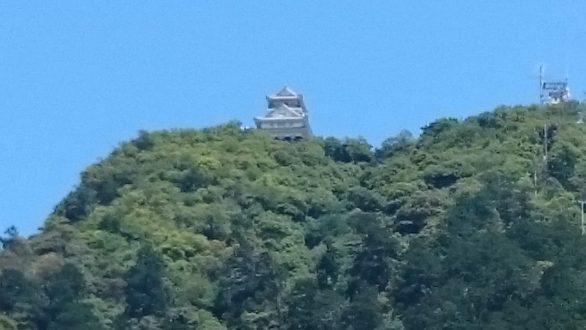 岐阜城と熊野本宮大社