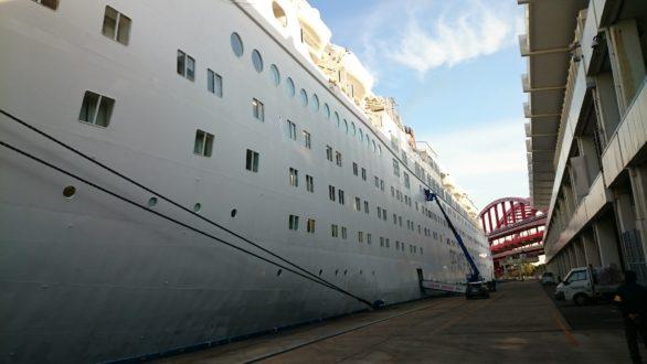 ピースボート オーシャンドリーム号 第14期工事